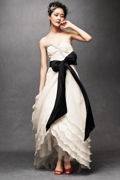 Tiered Tulip Gown