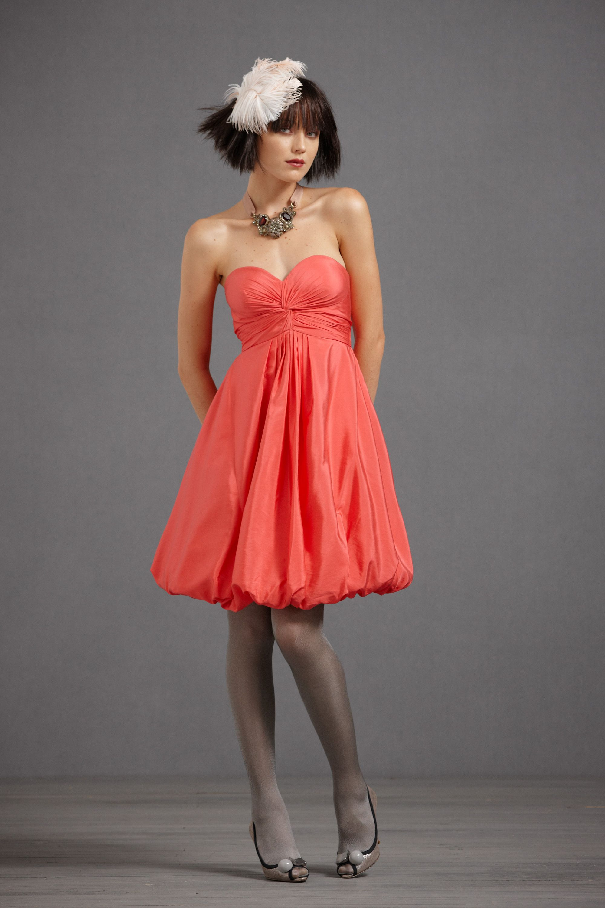 Twirled Sweetheart Dress