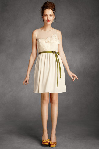 Origami Pleated Dress