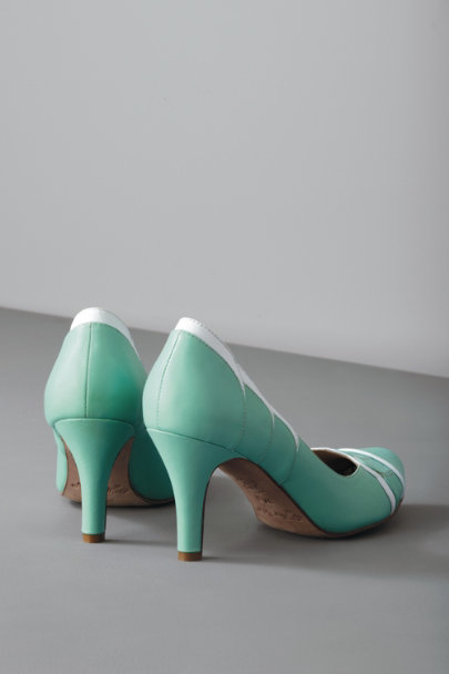 Robins Egg Elopement Pumps | BHLDN