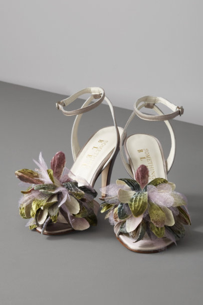 Champagne Agave Peep-Toes | BHLDN
