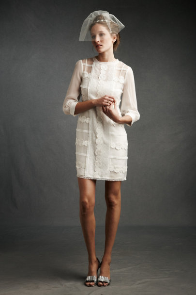 Ivory Spun Sugar Shift | BHLDN
