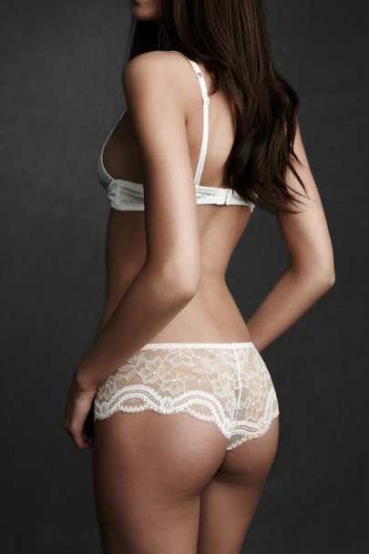 simone pearle Ivory Tracings Knickers | BHLDN