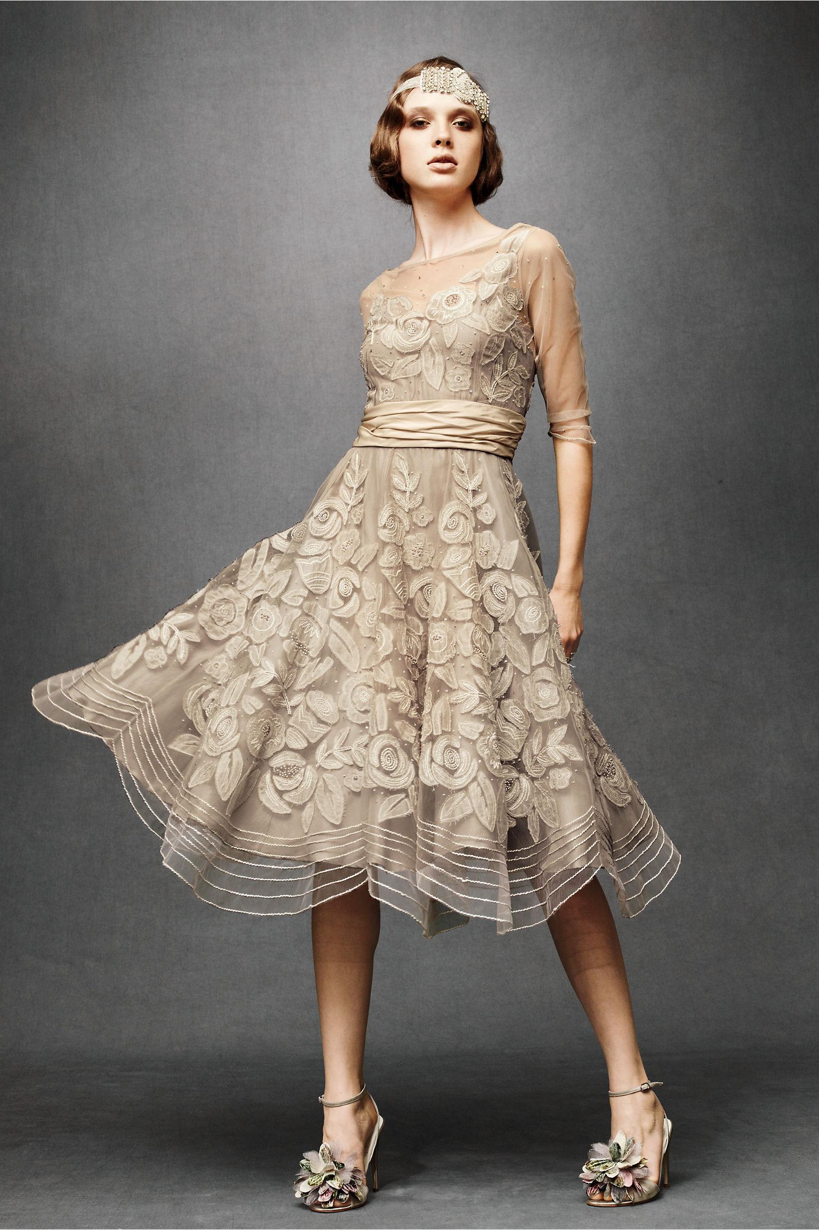 Tulle Era Dress in Bride Wedding Dresses   BHLDN