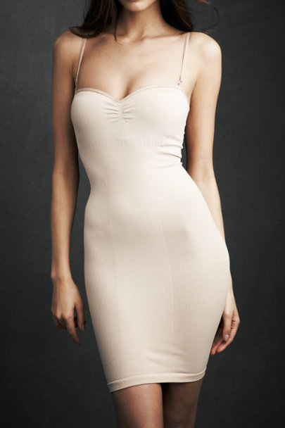 cass Nude Seamless Shaper Slip | BHLDN