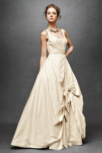 Sweeping Taffeta Ball Gown