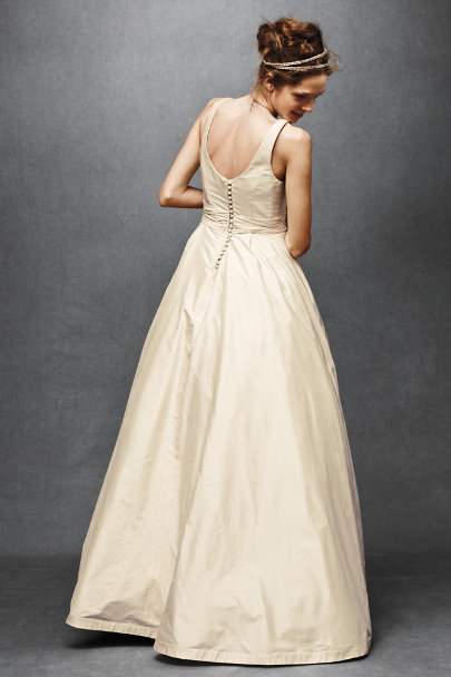 Sweeping Taffeta Ball Gown