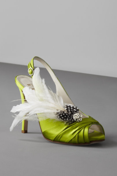 Twigs & Honey White Festooned Shoe Clips | BHLDN