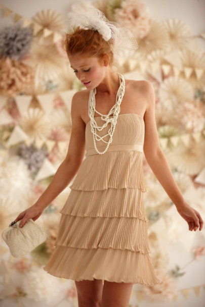 Anna Sui Creme Willow Dress | BHLDN