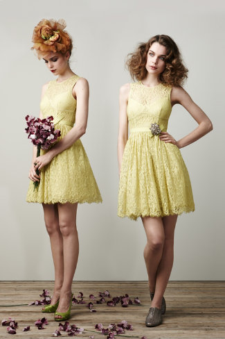 Limoncello Lace: 2 Ways