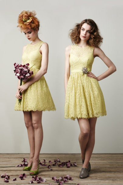 Limoncello Lace: 2 Ways | BHLDN