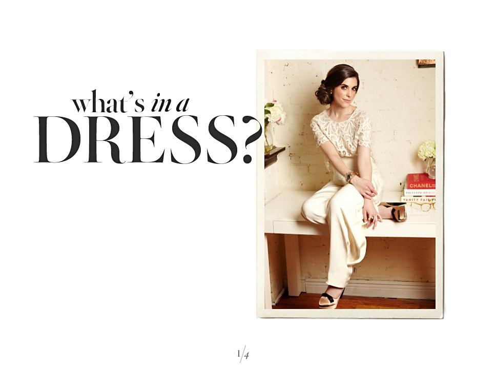 what's in a DRESS?