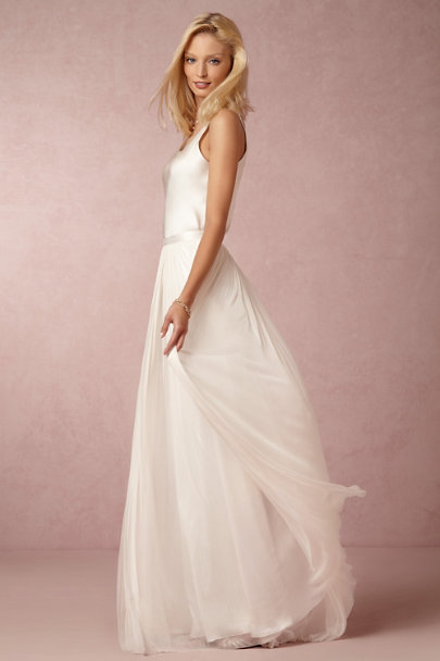 In Perpetuity Camisole Top Amp Anika Tulle Skirt In Bride