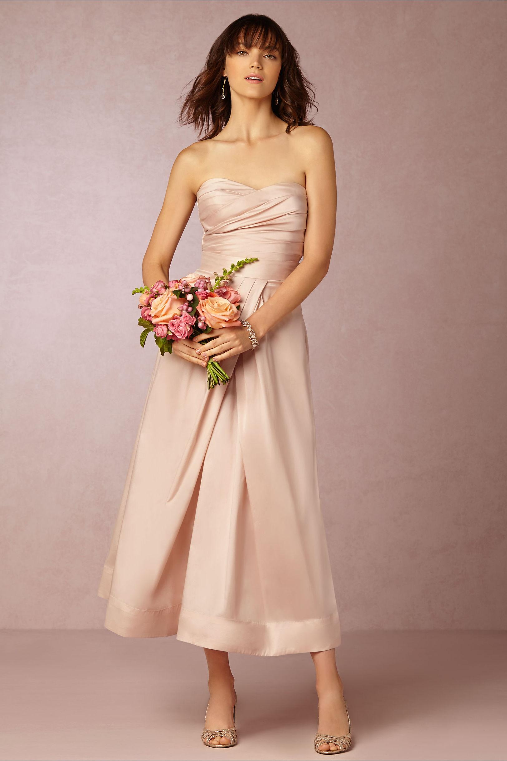Salene Taffeta Corset &amp Salene Taffeta Skirt in Bridesmaids  BHLDN