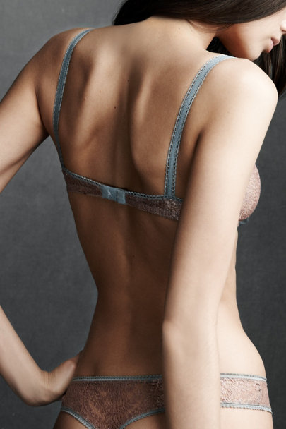 Knotted Gamine Bra
