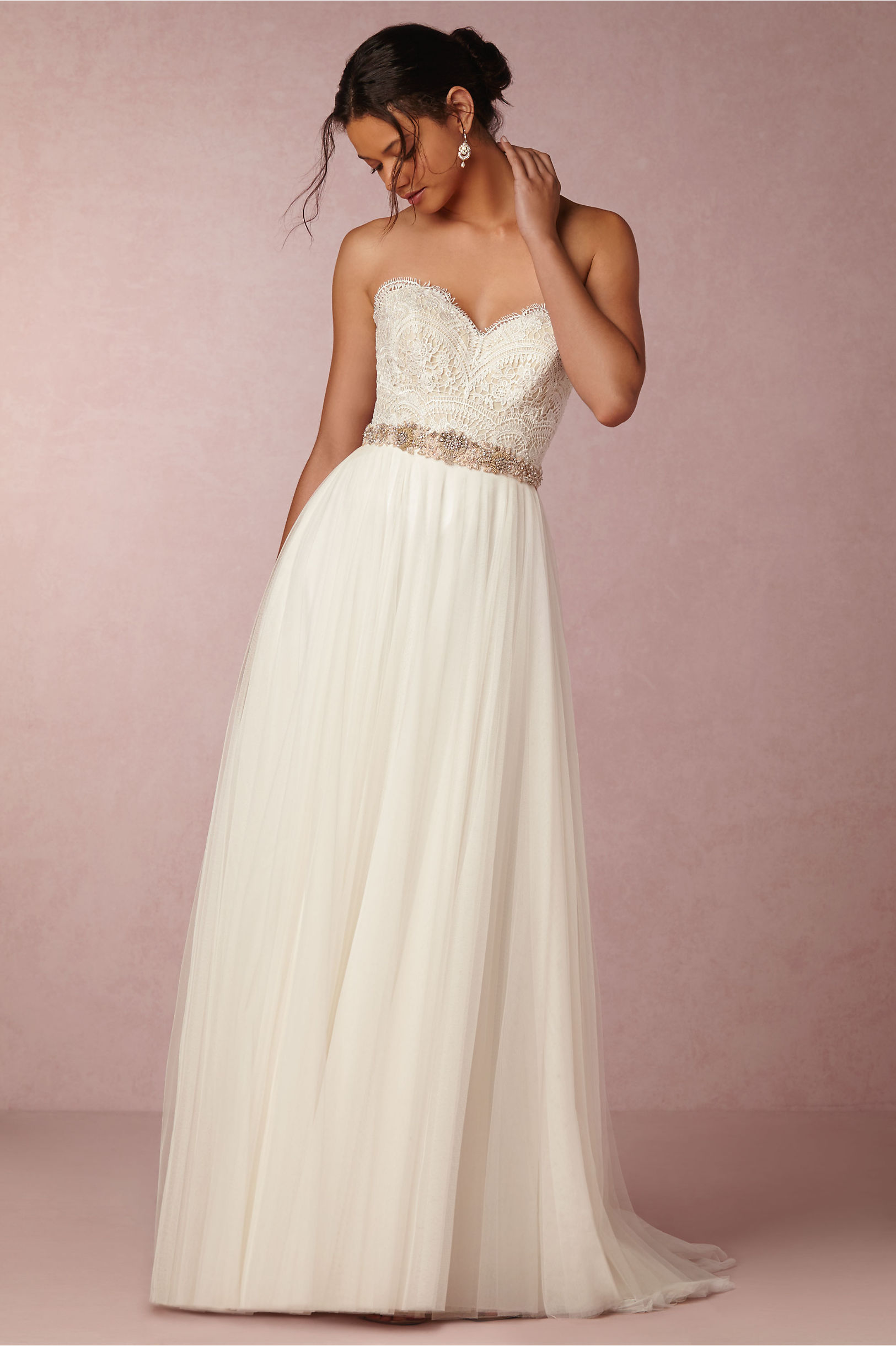 bride bridal separates wedding dress corset top Kinsey Corset Top Amora Skirt