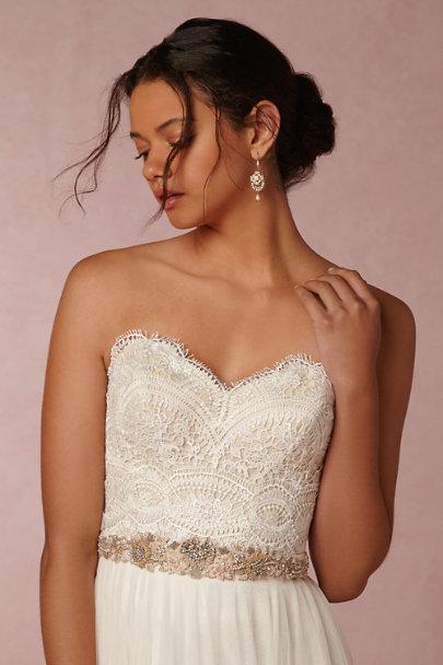 kinsey corset top amora skirt in bride bhldn. Black Bedroom Furniture Sets. Home Design Ideas