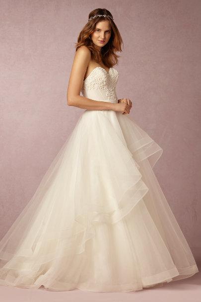 tisha corset amp almira skirt in bride bhldn