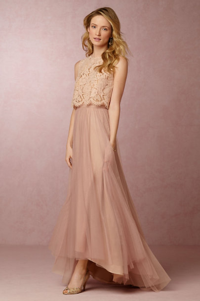 Cleo Top Amp Petal Skirt In Bridesmaids Amp Bridal Party Bhldn