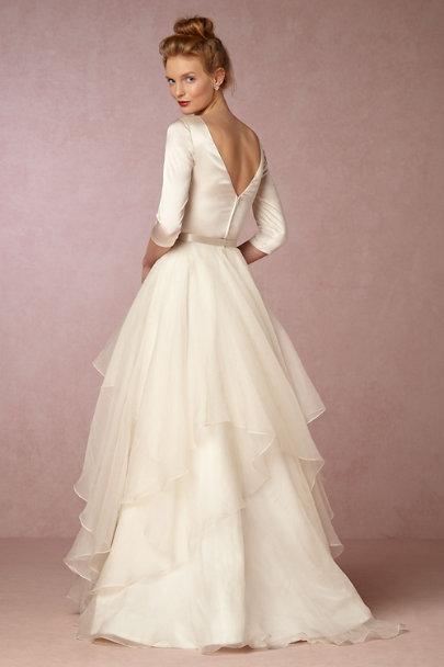 Desiree top lowell skirt in bride bhldn for Wedding dresses like bhldn