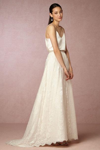 Mia top amber skirt in bride bhldn for Wedding dresses like bhldn