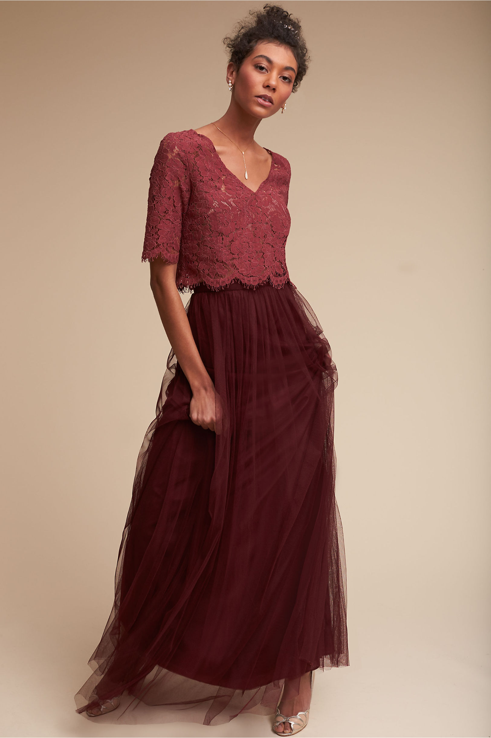 Lace Bridesmaid Dresses | Long & Short Styles | BHLDN