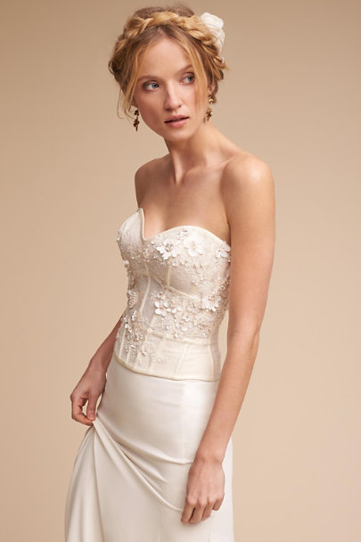 Maryna Corset Top & Sade Skirt | BHLDN