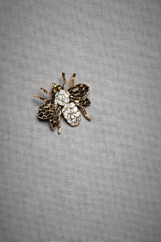 Honeybee Brooch
