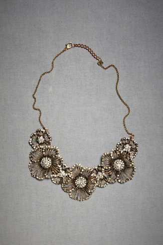Hinted Phlox Necklace, $245