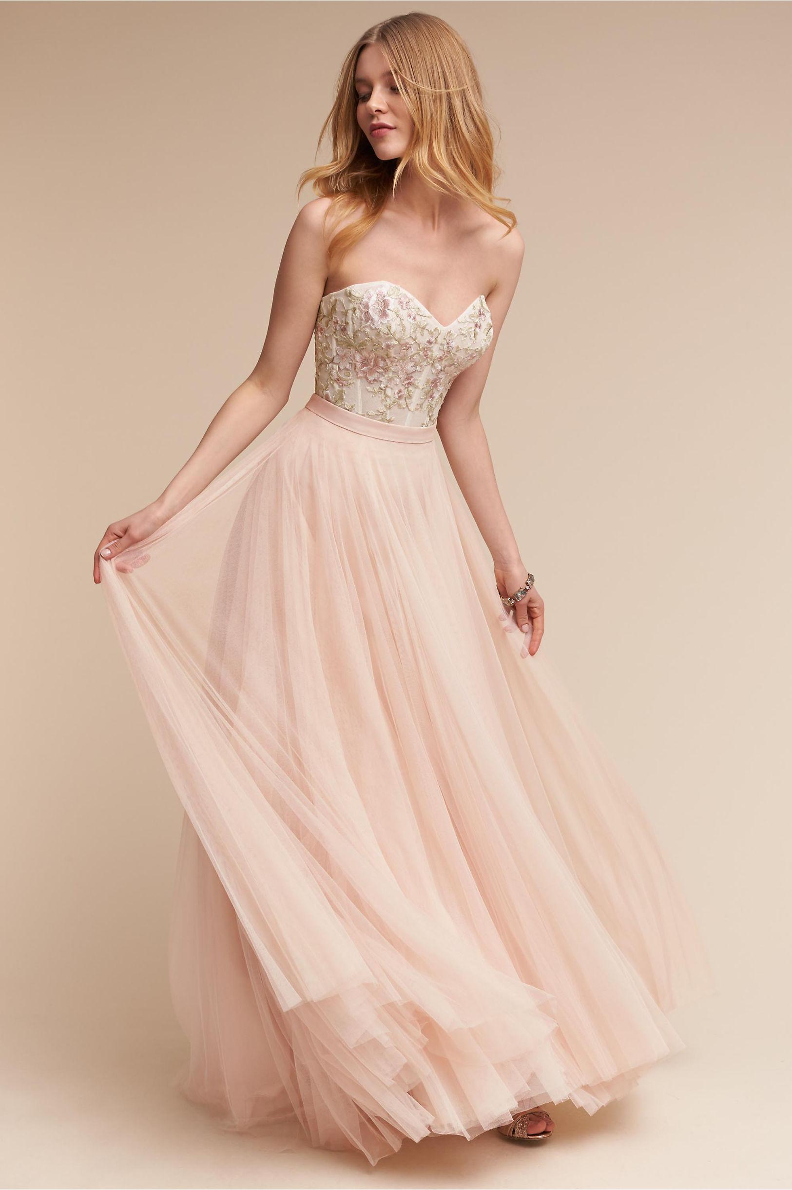 bride bridal separates wedding dress corset top Wythe Corset Top Amora Skirt
