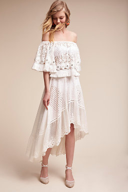 Beach Wedding Dresses  Casual &amp Bohemian Styles  BHLDN