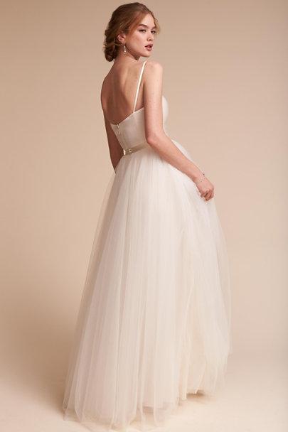 Jewel bodysuit delphi skirt in bride bhldn for Wedding dress bodysuit and skirt