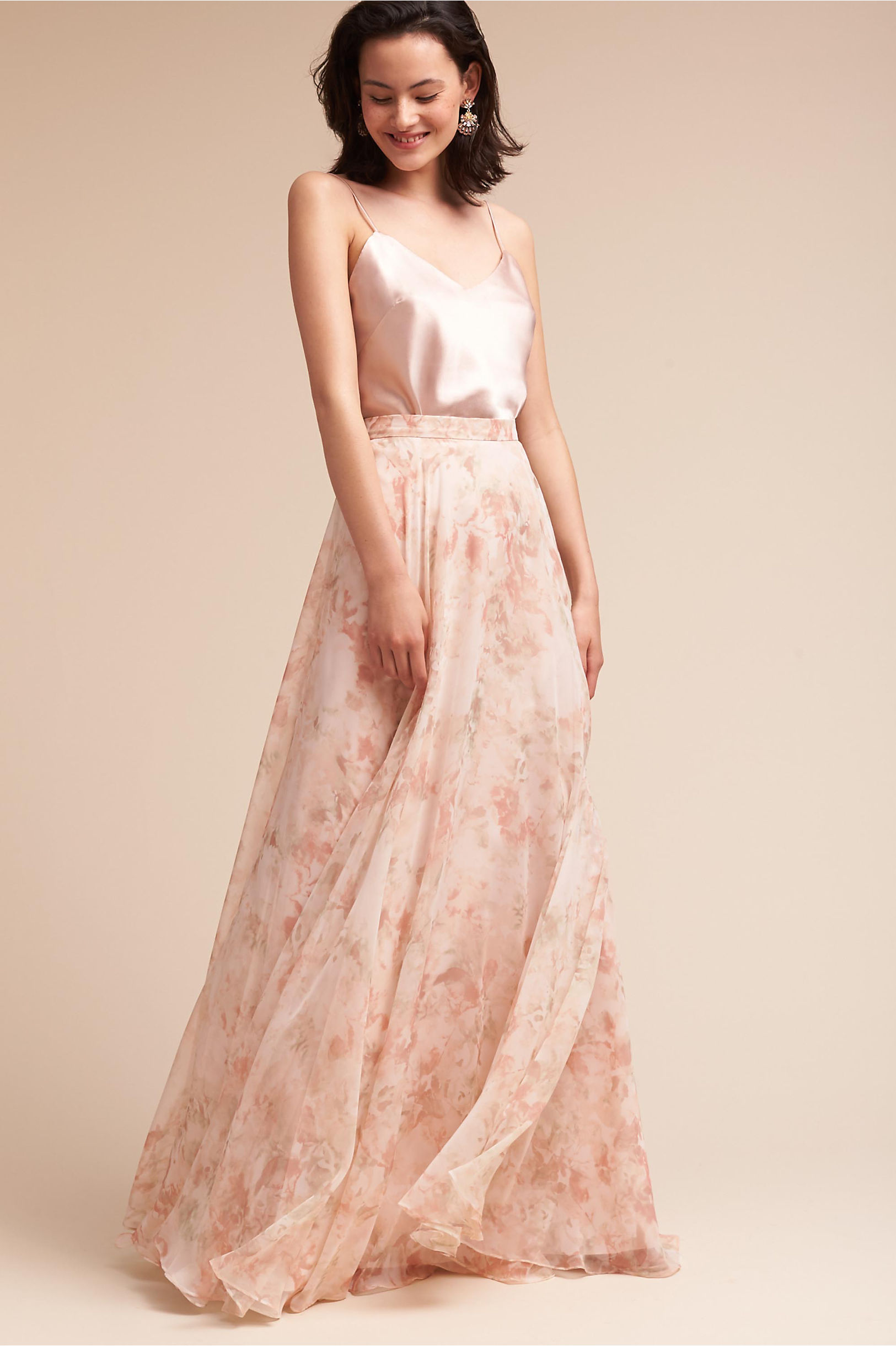 Blush Colored & Light Pink Bridesmaid Dresses | BHLDN