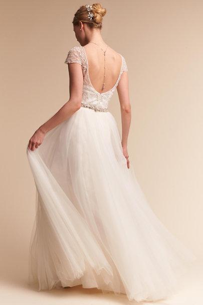 Brio bodysuit delphi skirt in bride bhldn for Wedding dress bodysuit and skirt