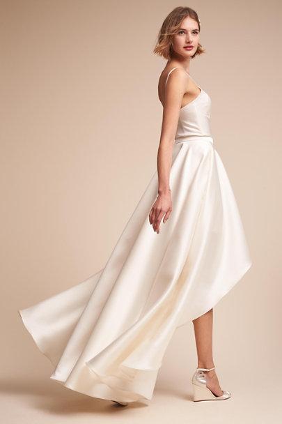 Jewel bodysuit zelda skirt in bride bhldn for Wedding dress bodysuit and skirt