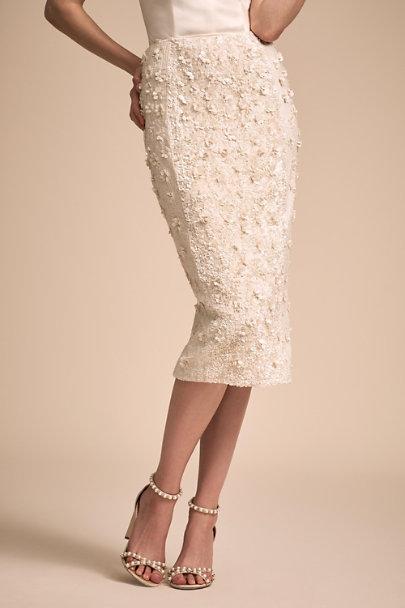 Jewel Bodysuit & Cohen Skirt by Bhldn