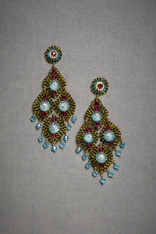 Blue Ballet Earrings