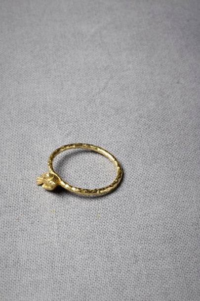 Gold Harbinger Ring | BHLDN
