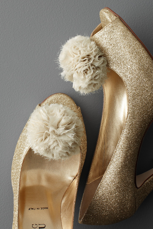 Pompom Shoe Clips
