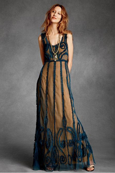 Платье этнического стиля