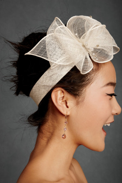 giovannio Ivory Marzipan Halo Headband | BHLDN