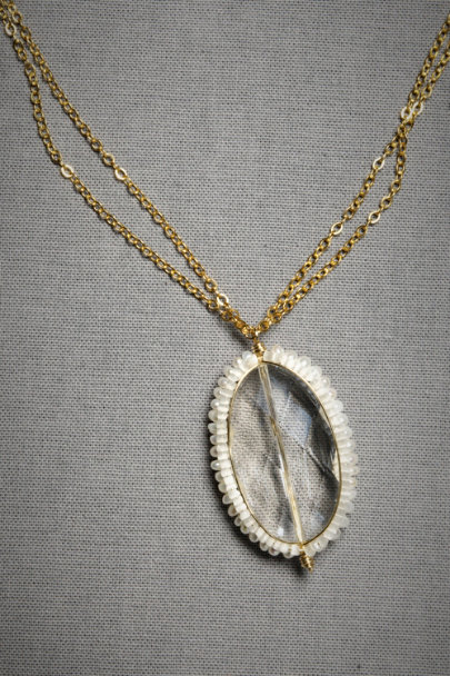 Cooling Necklaces That You Freeze : Frozen rock necklace in sale bhldn