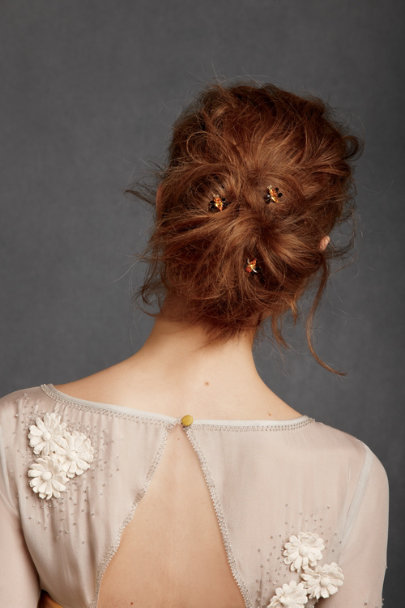 Debra Moreland Black Motif Abuzz Hairpins | BHLDN