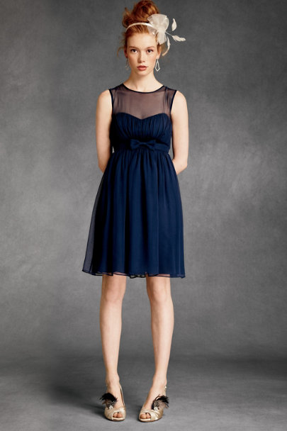 essere Navy Savoy Dress | BHLDN