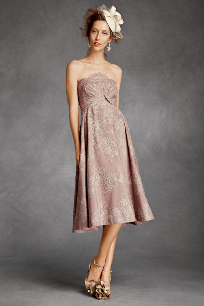 there is only you and me Blush Combo Valenciennes Dress | BHLDN