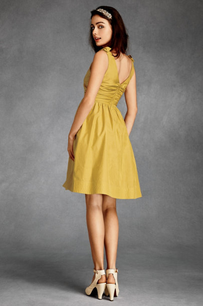 Hitherto Sunshine Beribboned Dress | BHLDN