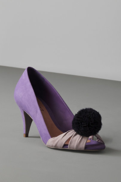 ban.do Black Pompom Shoe Clips | BHLDN