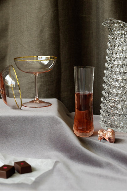 Clear Ice Carver's Flutes (2) | BHLDN