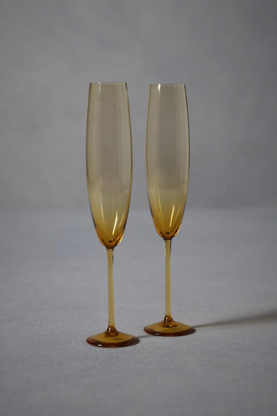 Amber On The Straight & Narrow Flutes (2) | BHLDN