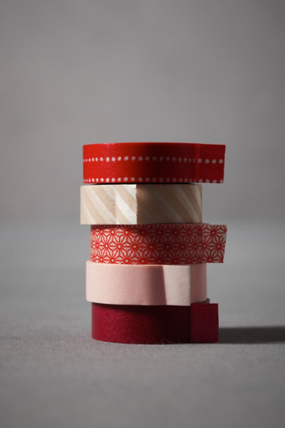 Pink & Red Multi Prints & Patterns Tapes | BHLDN